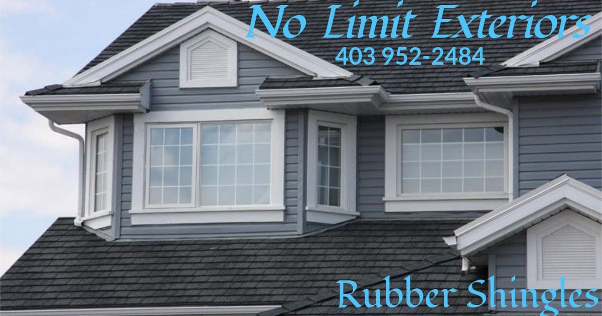 Medicine Hat Roofing and Exteriors - Rubber Shingles