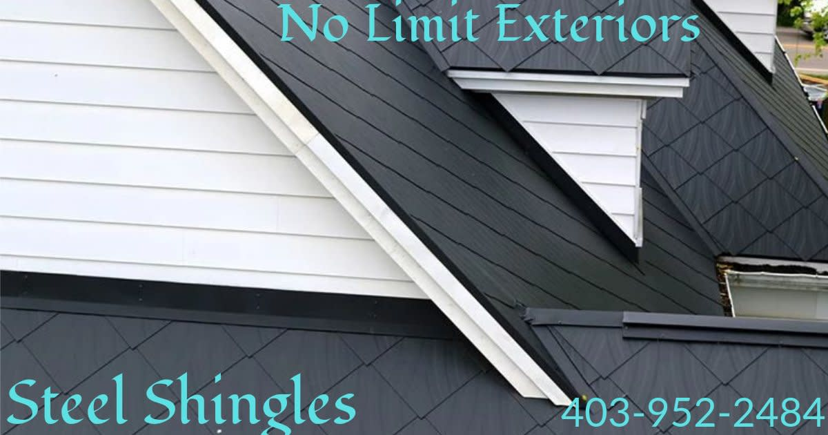 Medicine Hat Roofing and Exteriors - Steel Shingles