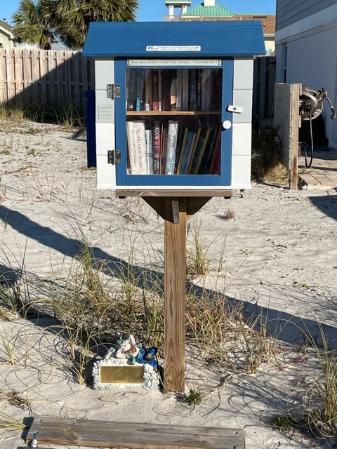 Jane Waters Little Free Library
