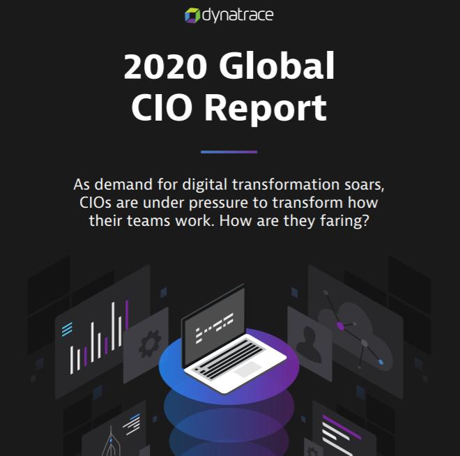 Dynatrace 2020 Global CIO report
