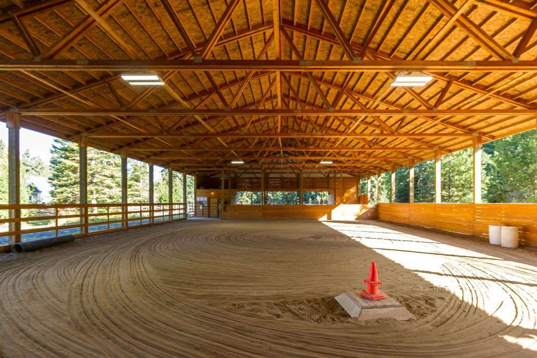 Quaint Horse Property with Covered Riding Arena