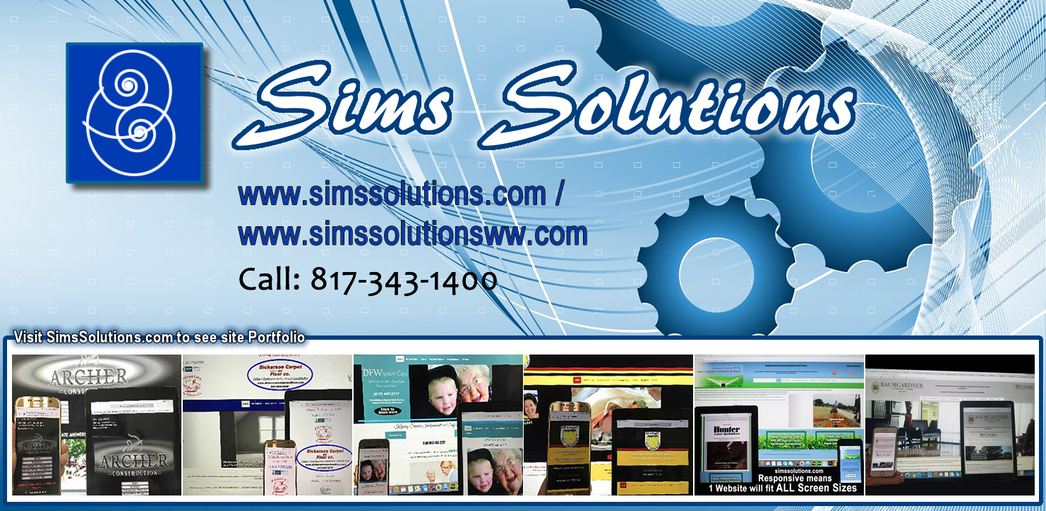 Sims Solutions Web Design and Graphics / Sims Solutions LLC