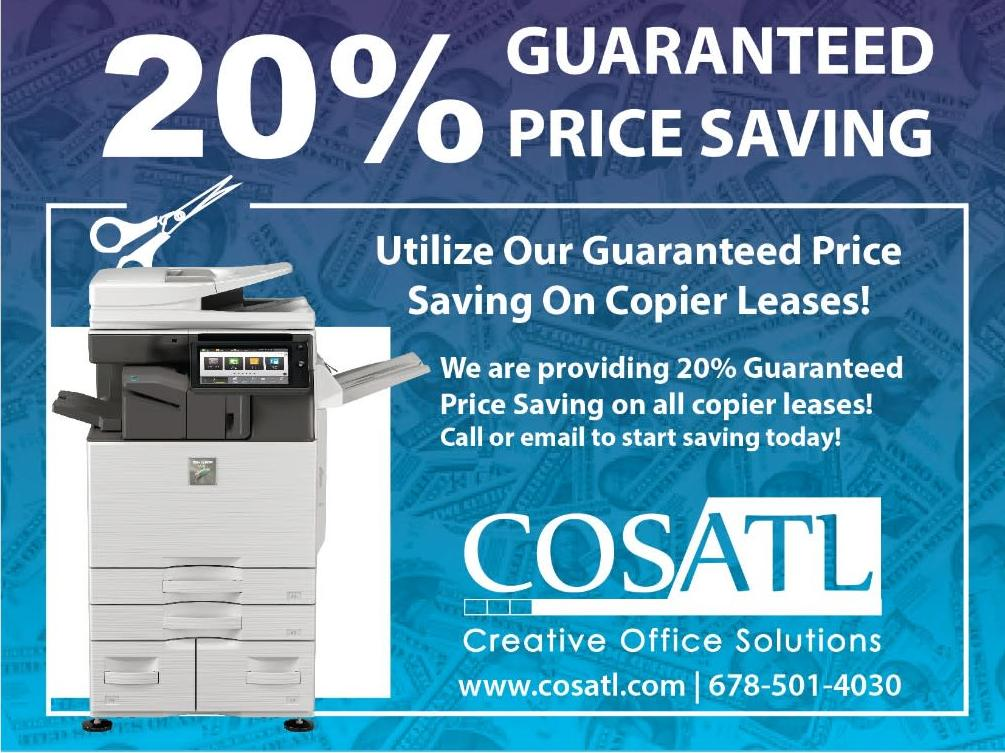 20% Off On Copier Leases