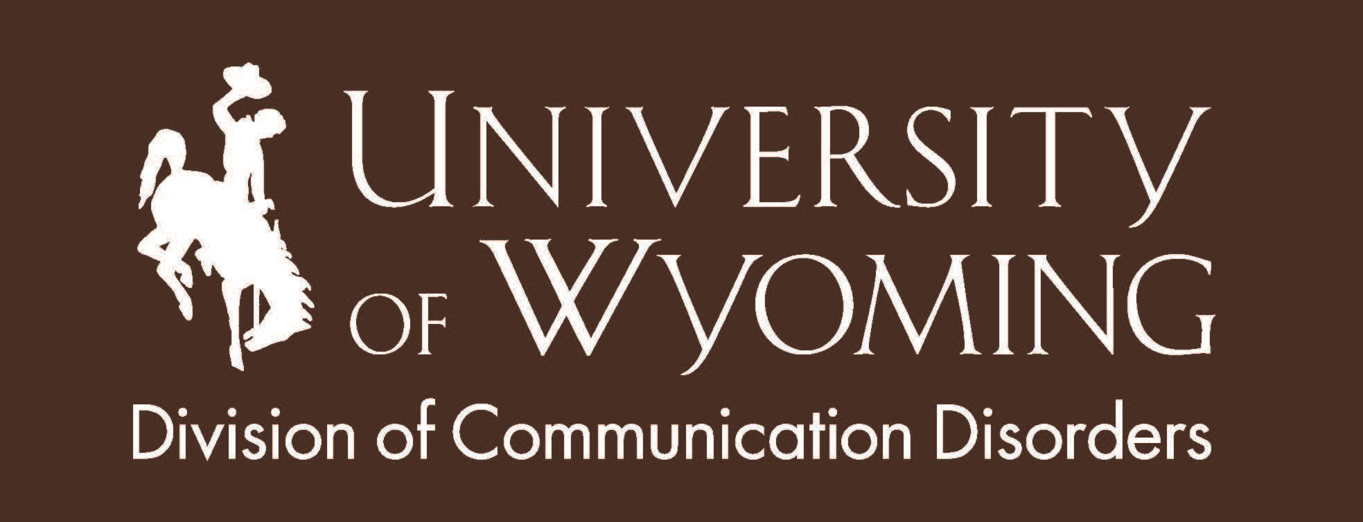 University of Wyoming Division of Communication Disorders