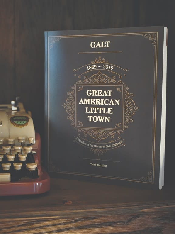 Great American Little town Timeline Book by Toni Gerling book cover photo