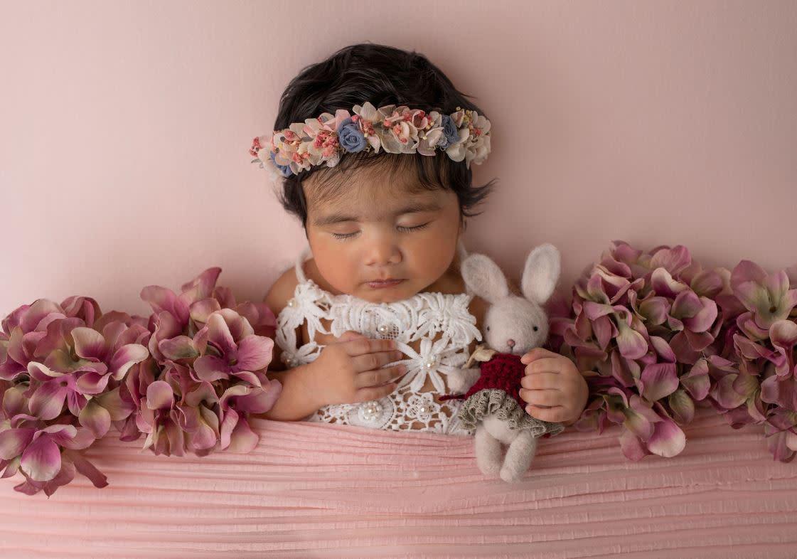 Beautiful newborn picture