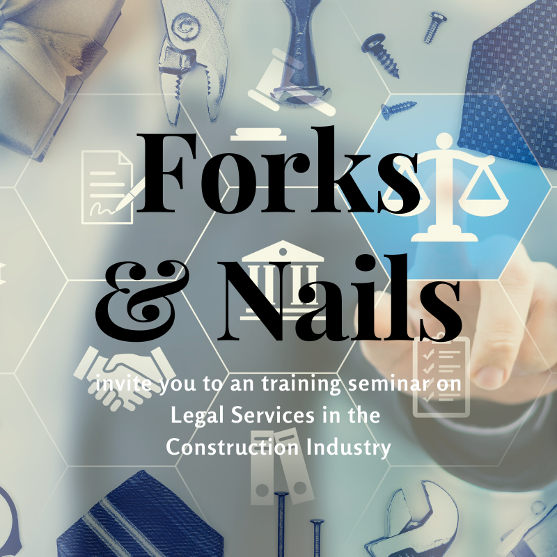 Forks & Nails Training Seminar