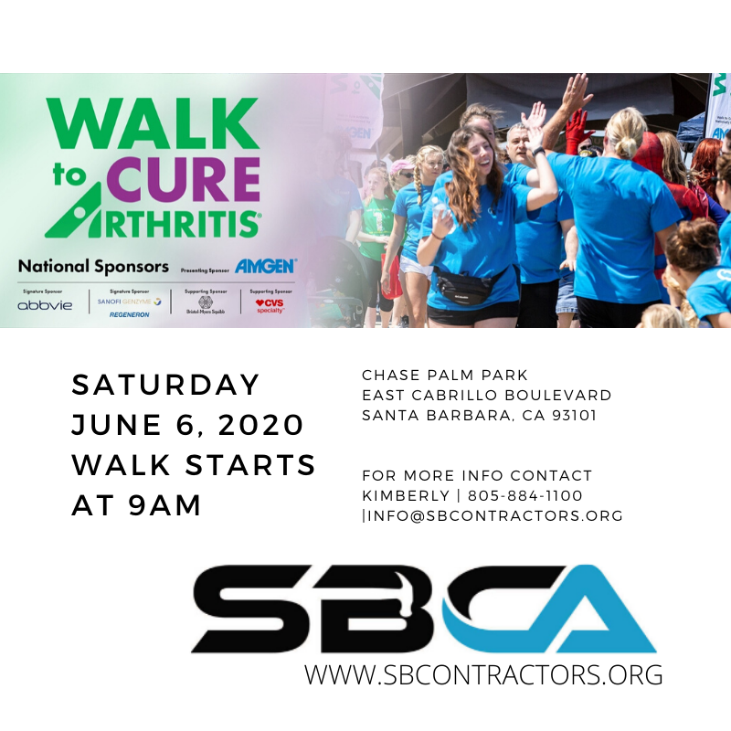 WALK to CURE ARTHRITIS with the SBCA