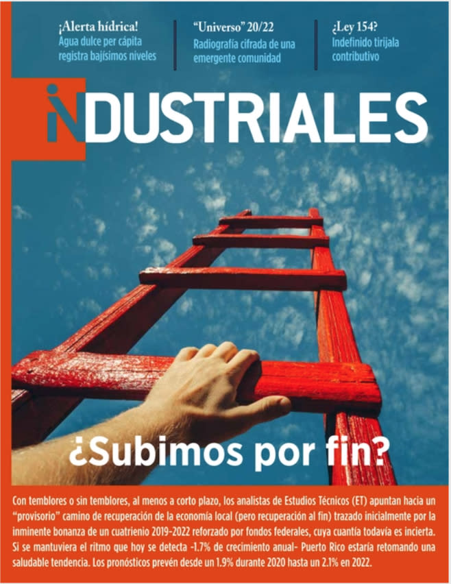 Image with the cover of Industrial Magazine, Digital Edition # 3 titled ¿Subimos por fin?