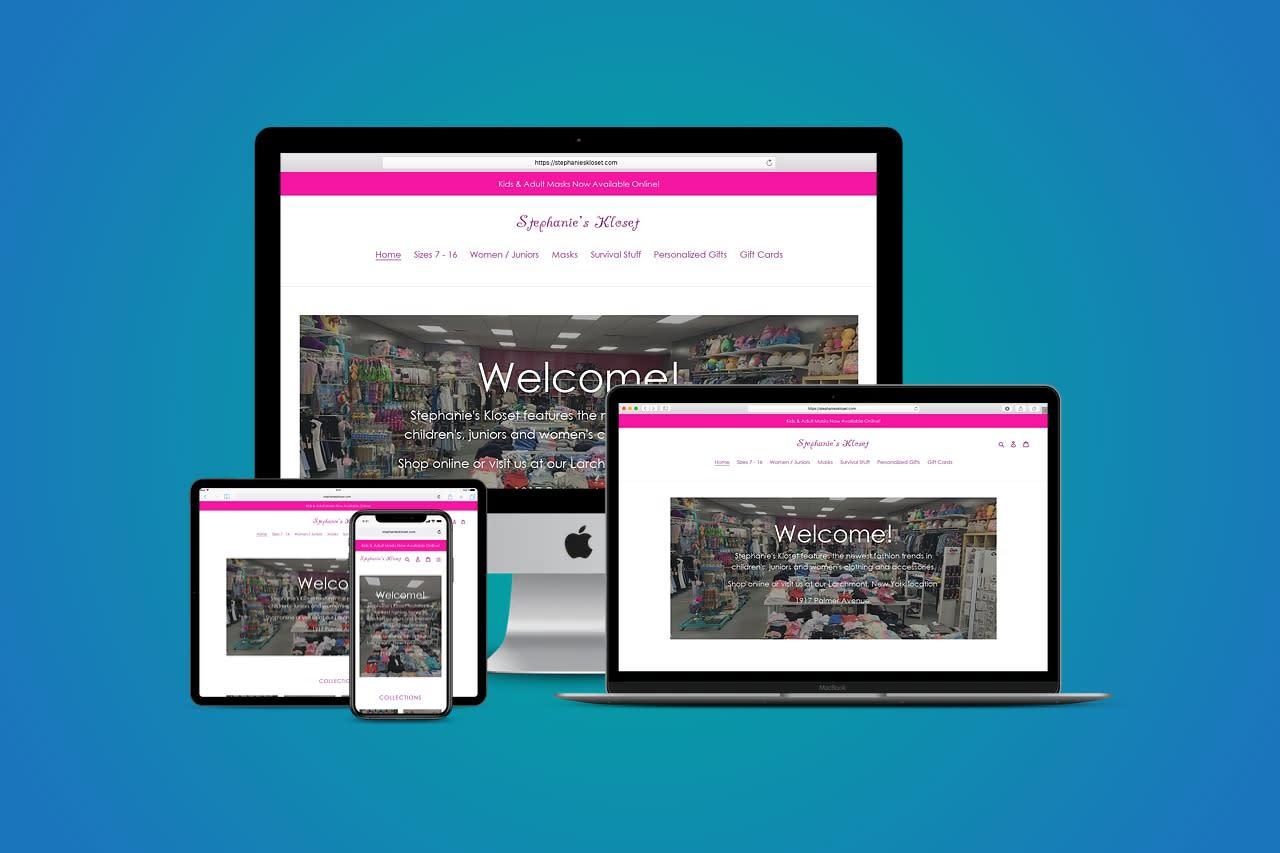 Stephanie's Kloset Responsive Website
