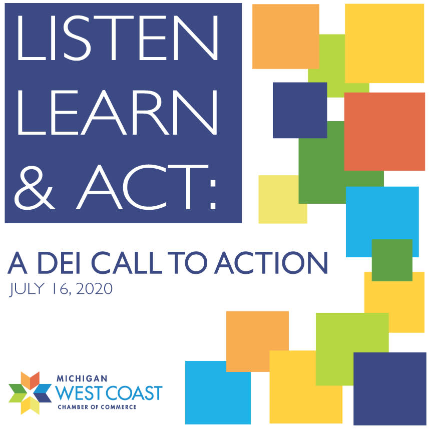 Listen, Learn and Act Logo
