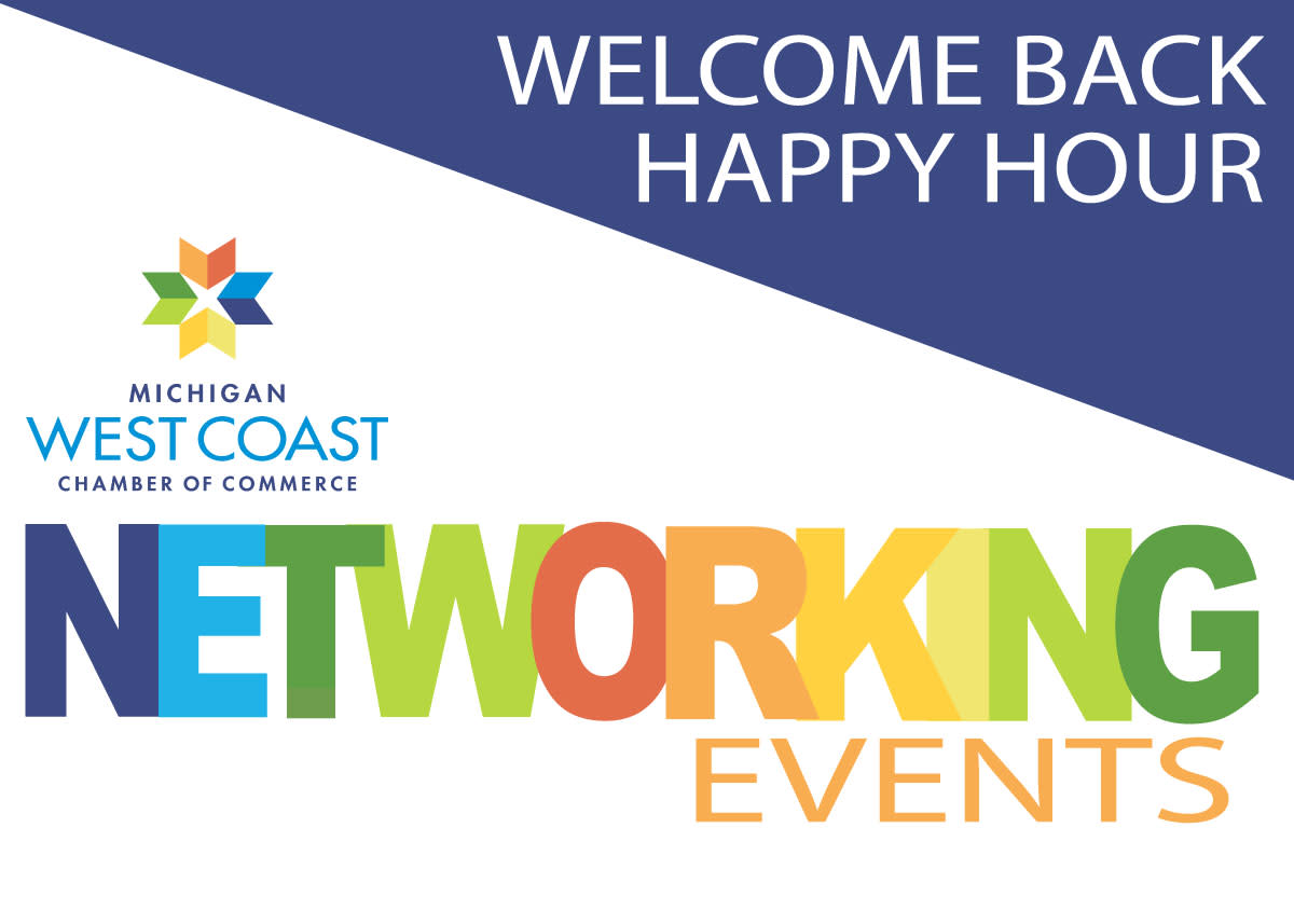 Welcome Back Happy Hour Logo
