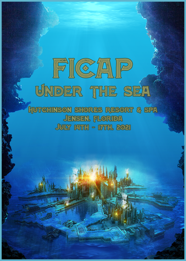 Photo of FICAP 2021 Convention Logo Under the Sea