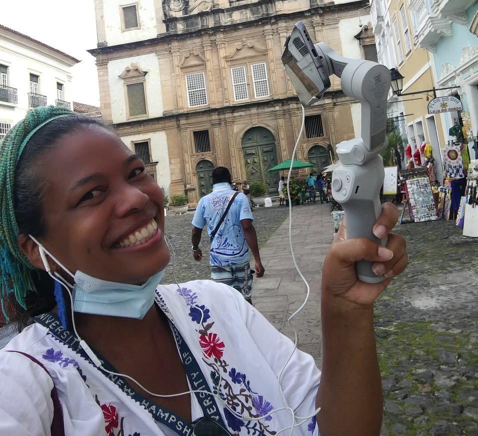 Streets of Savador Brazil With Sayruri