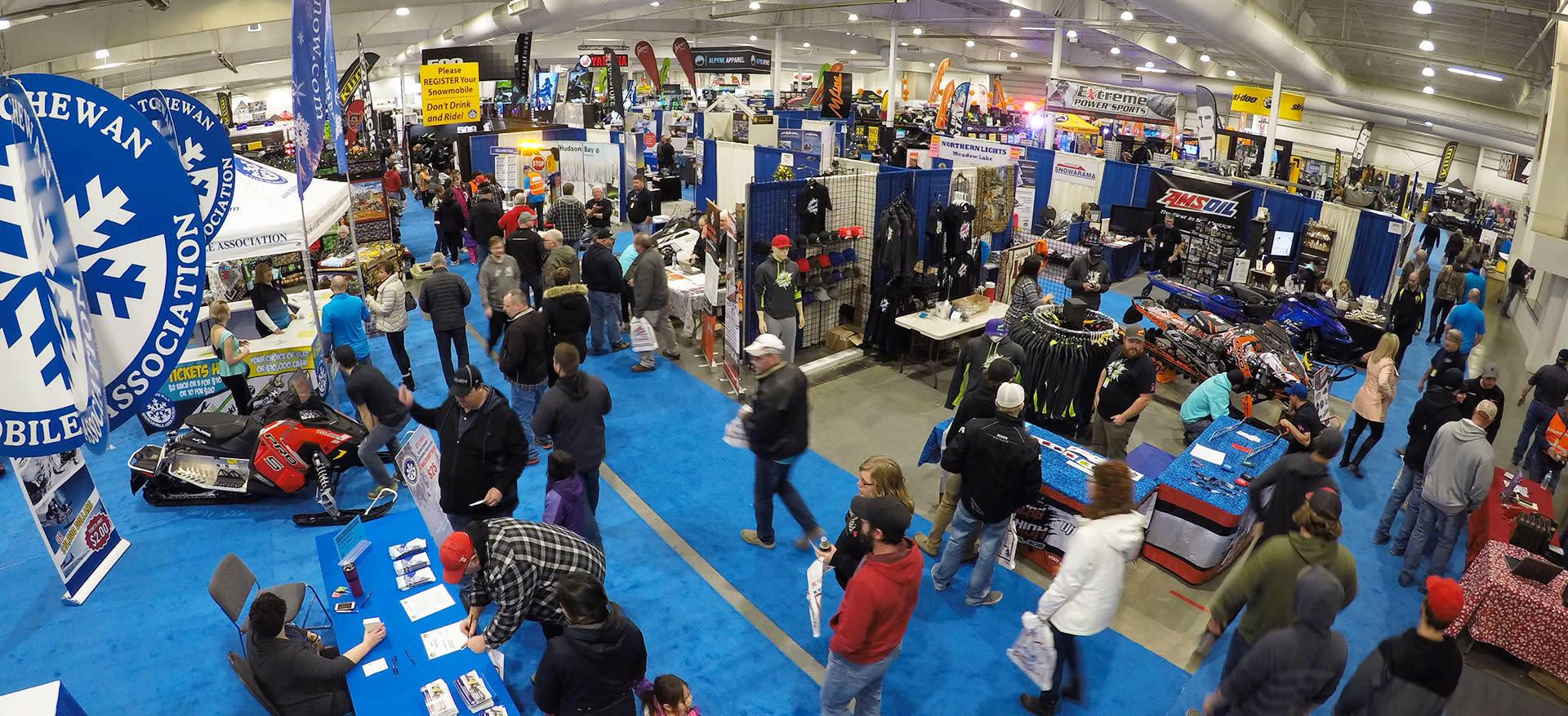 Snowmobile trade show