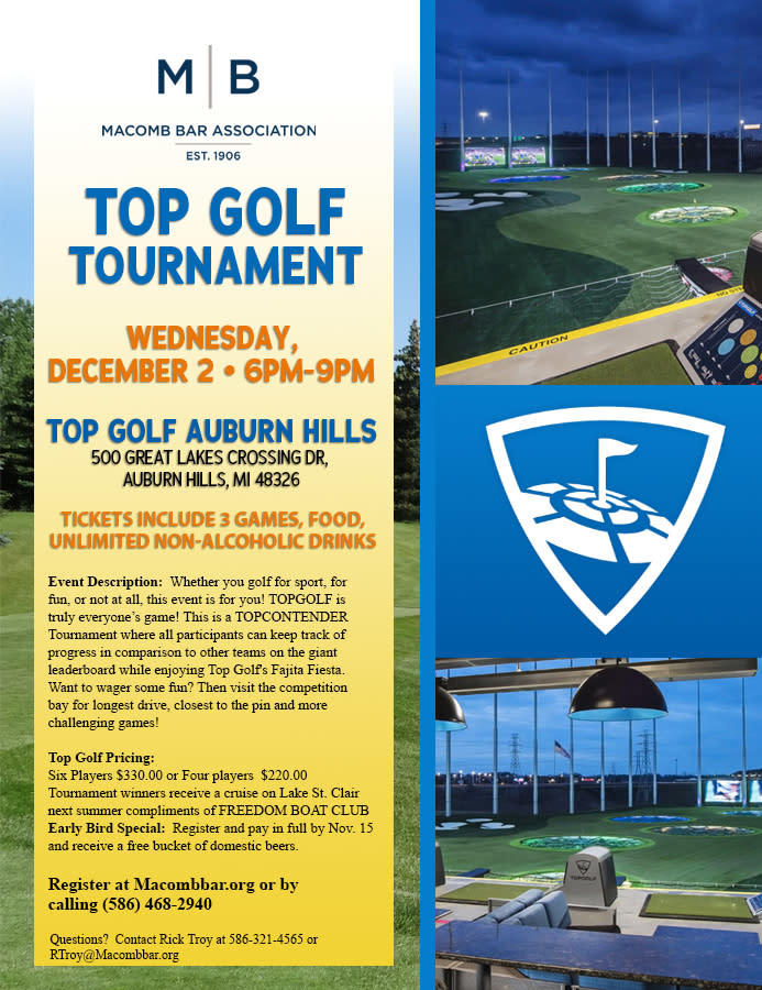 Top Golf Tournament