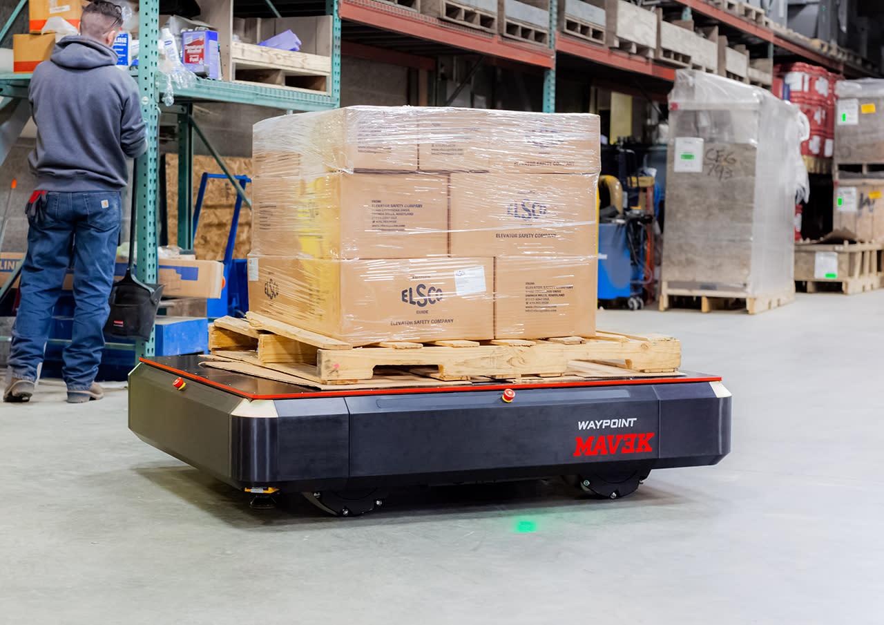 MAV3K autonomous mobile robot