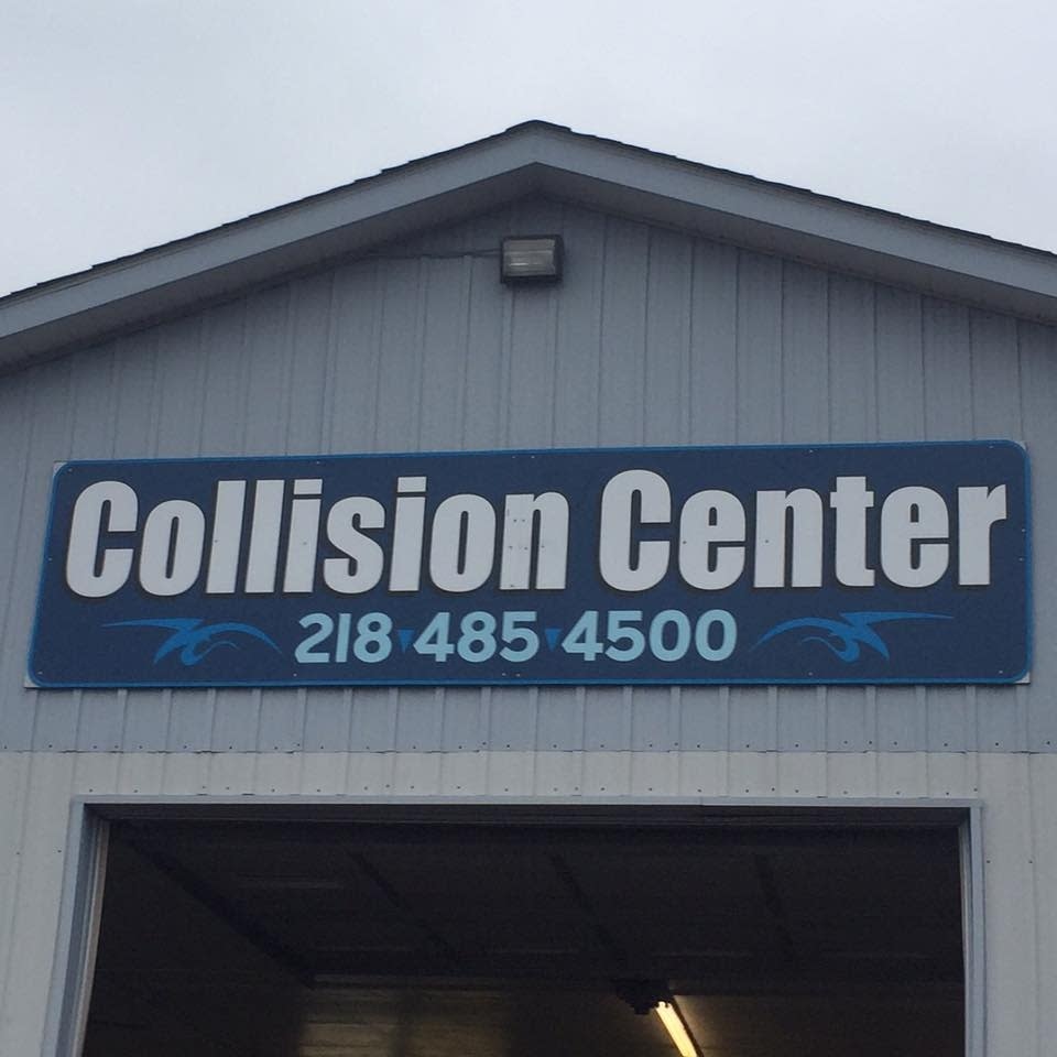 Grimm's Collision Center logo
