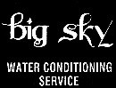 Big Sky Water Conditioning