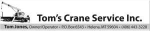Tom's Crane Service