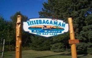 Sissebagamah RV Resort on Bay Lake