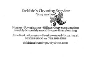 Debbie's Cleaning
