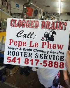 Pepe Le Phew Sewer & Drain Cleaning Service
