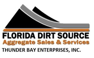Florida Dirt Source/Thunderbay Trucking