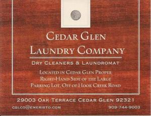 Cedar Glen Laundry Company
