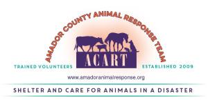 Amador County Animal Response Team
