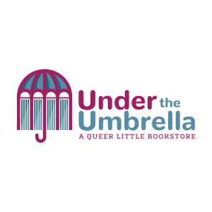 under the umbrella a queer little bookstore logo