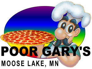 poor gary's logo