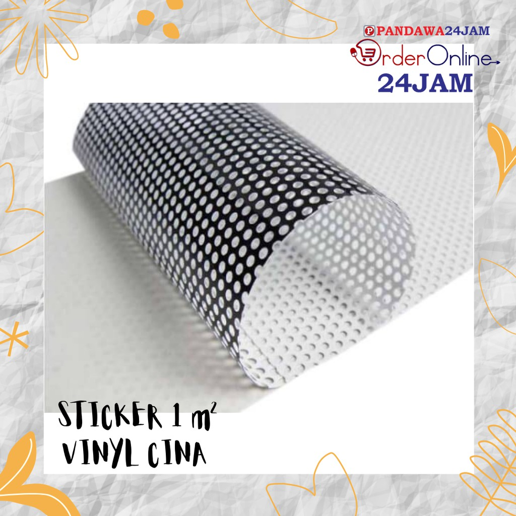 Stiker Vinyl Cina