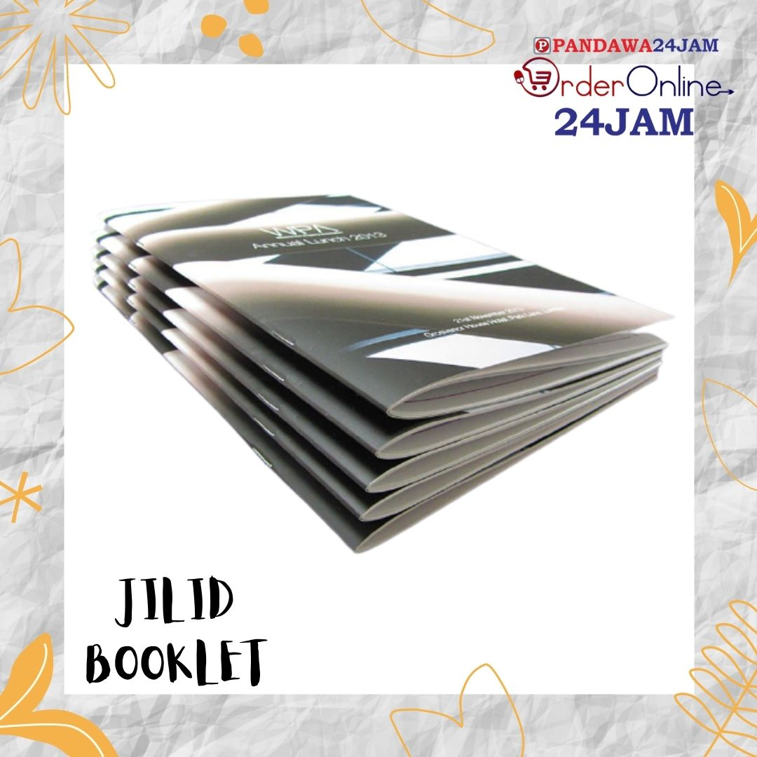 Jilid Booklet/Seteples Tengah