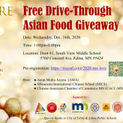 Free Drive-Through Asian Food Giveaway