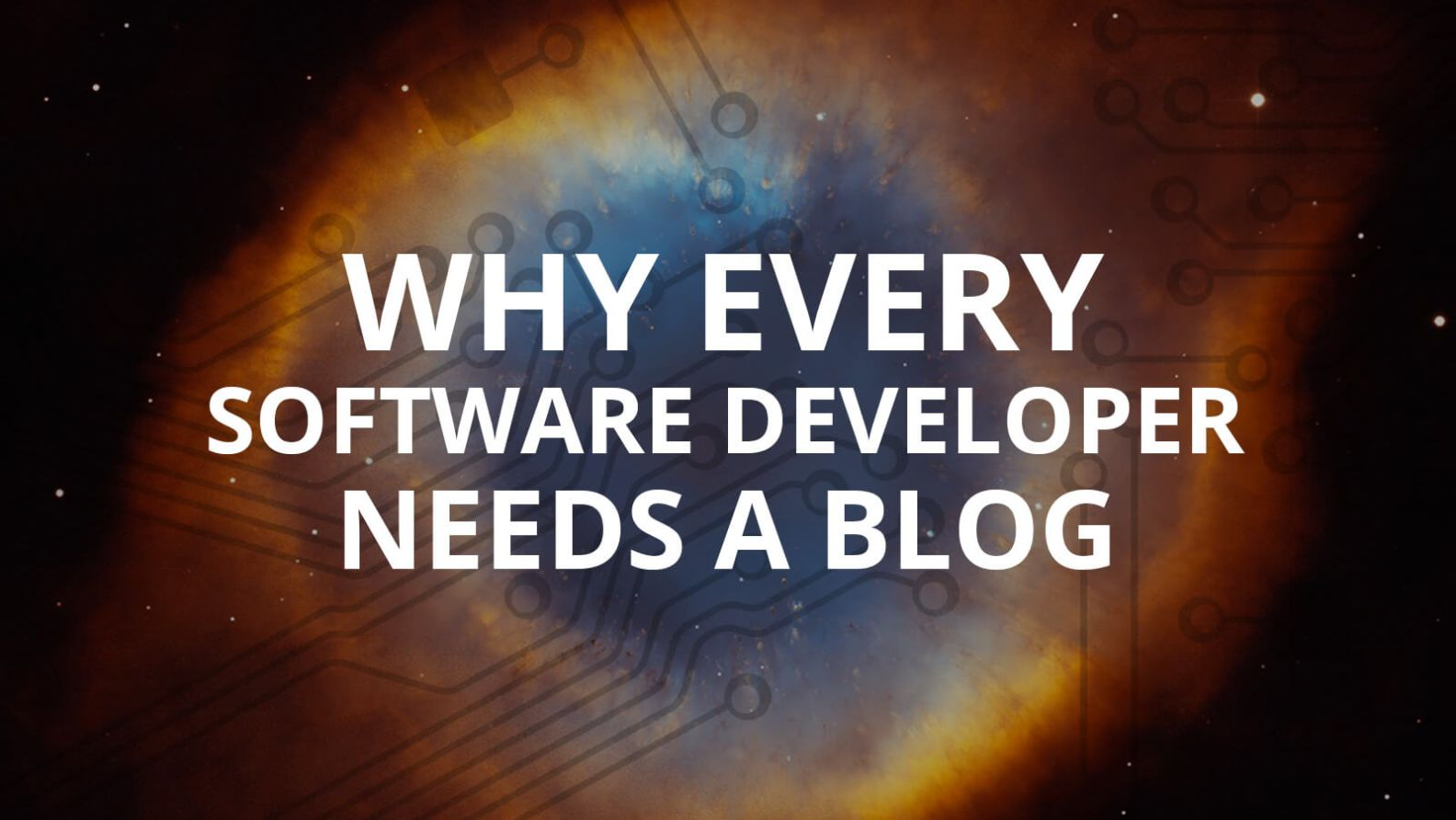 Why Every Software Developer Needs a Blog
