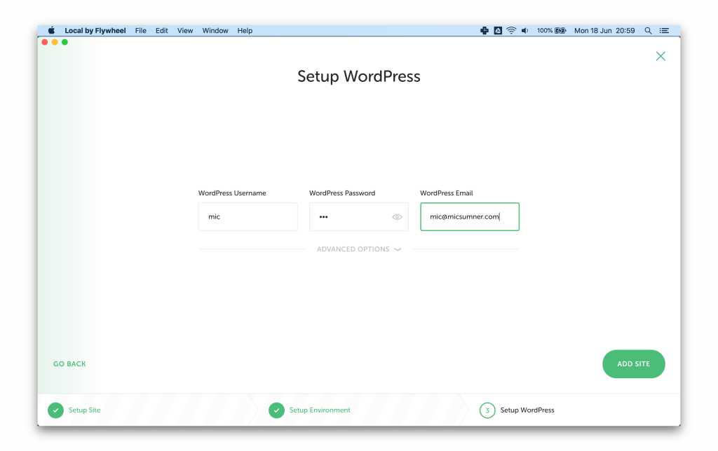 WordPress Theme Development on Mac
