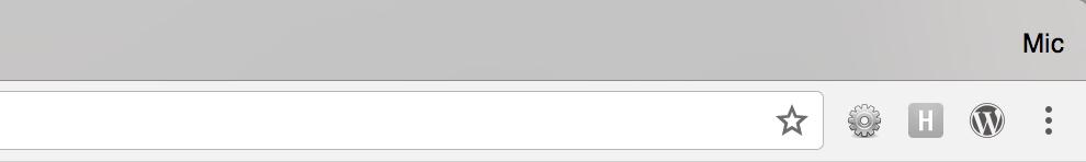 Chrome setup and useful plugins for Web Development