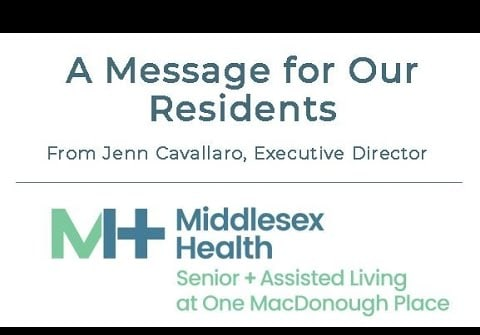 Update for Residents | One MacDonough Place