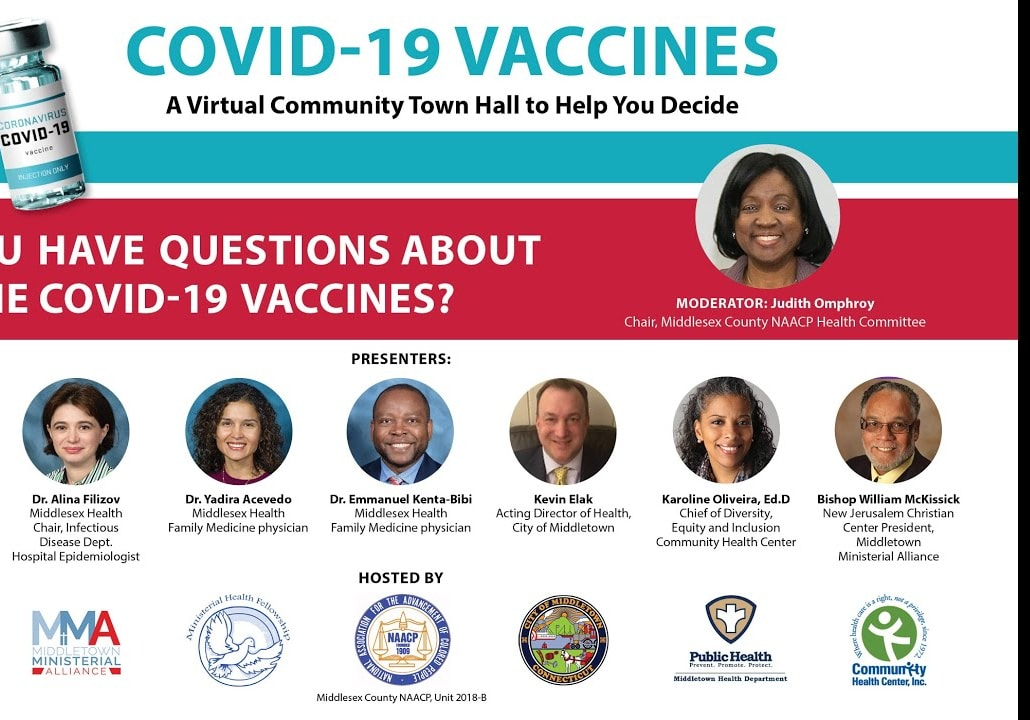 COVID-19 VACCINES: A Virtual Community Town Hall to Help You Decide
