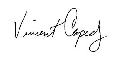Vincent G. Capece, Jr., CEO