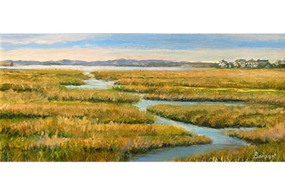 Marsh to Plum Island by Linda Boisvert-DeStefanis