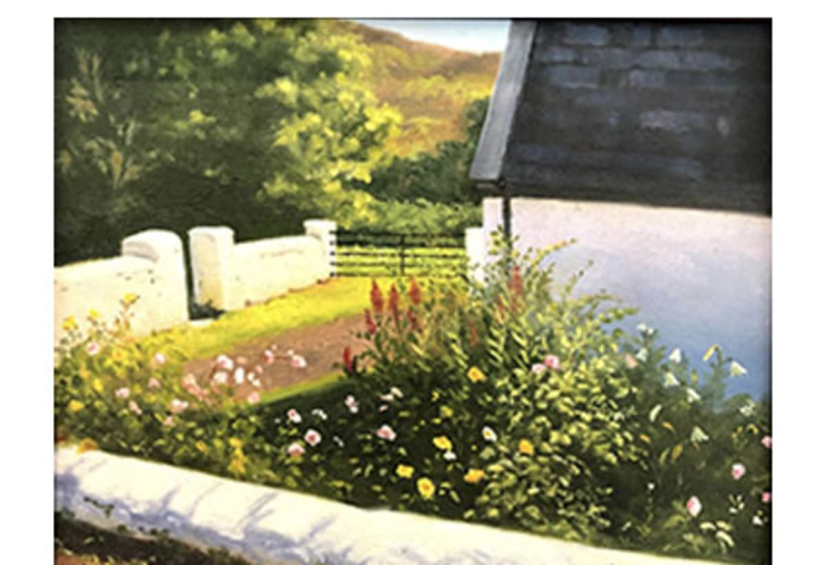 Cottage Garden by Phyllis Bevington