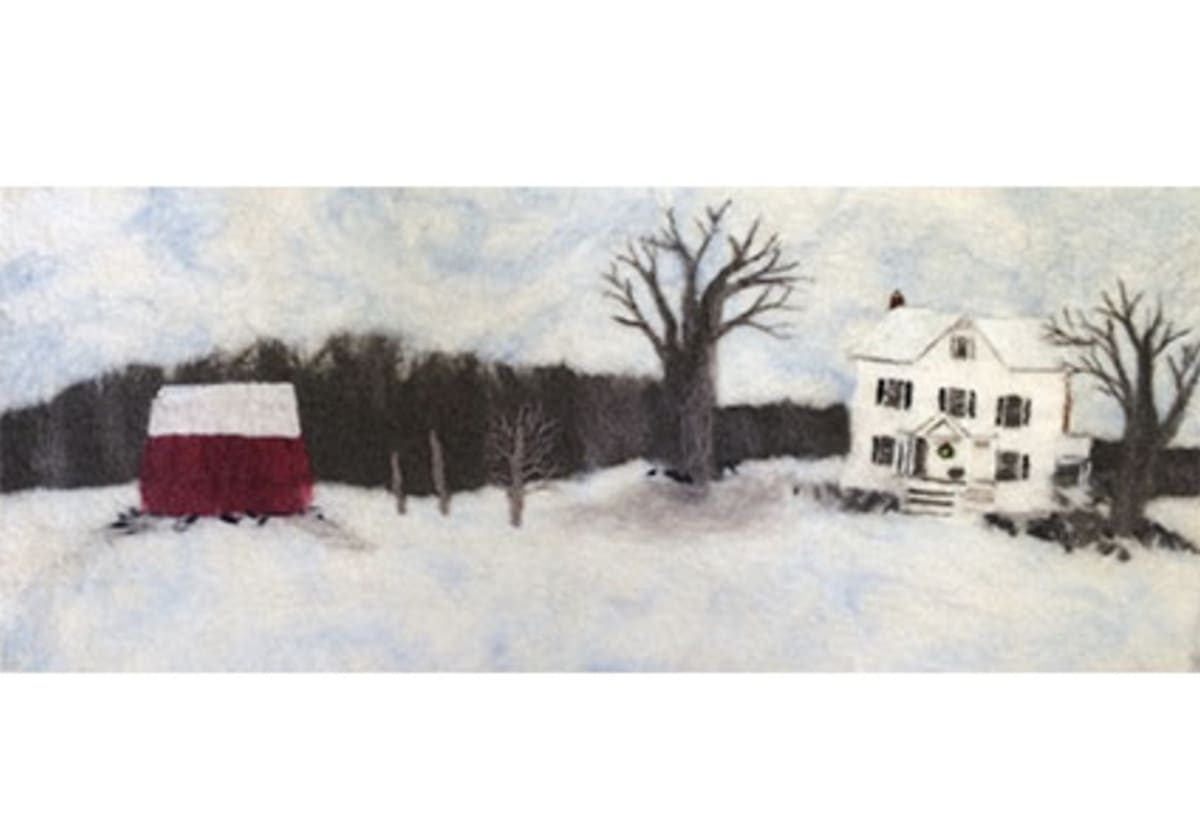 Winter Farm by Kristen Walsh