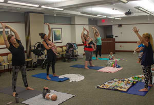 Middlesex Hospital offers yoga classes