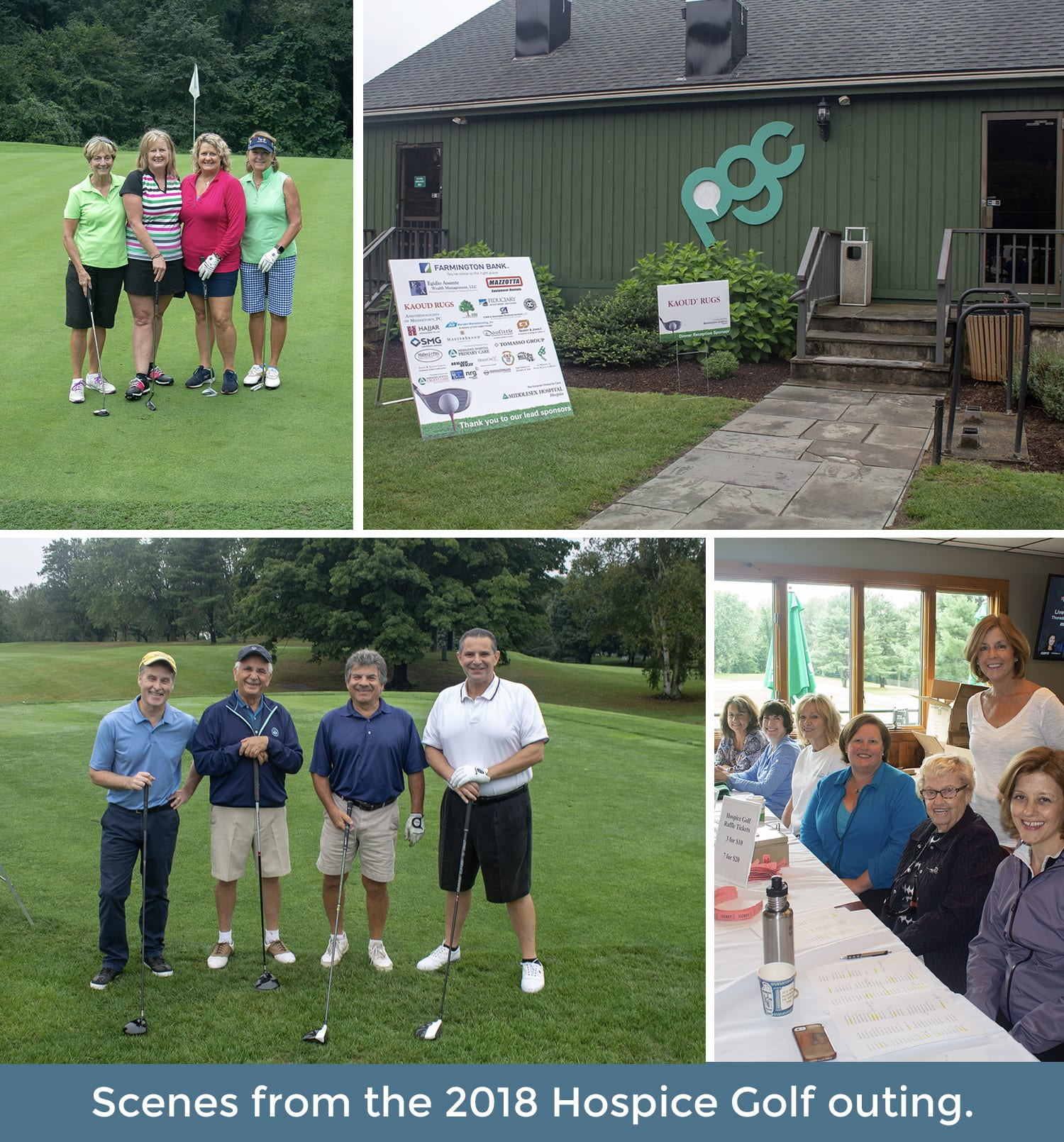 Donate - Hospice Golf - 2019 Page Collage