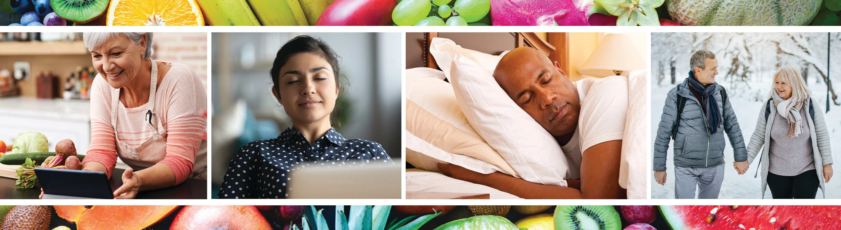 Healthy eating, relaxation, sleep and exercise are key in lifestyle medicine.