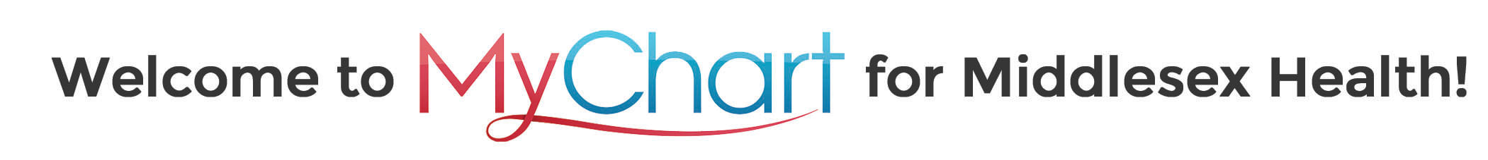 Welcome to MyChart logo.