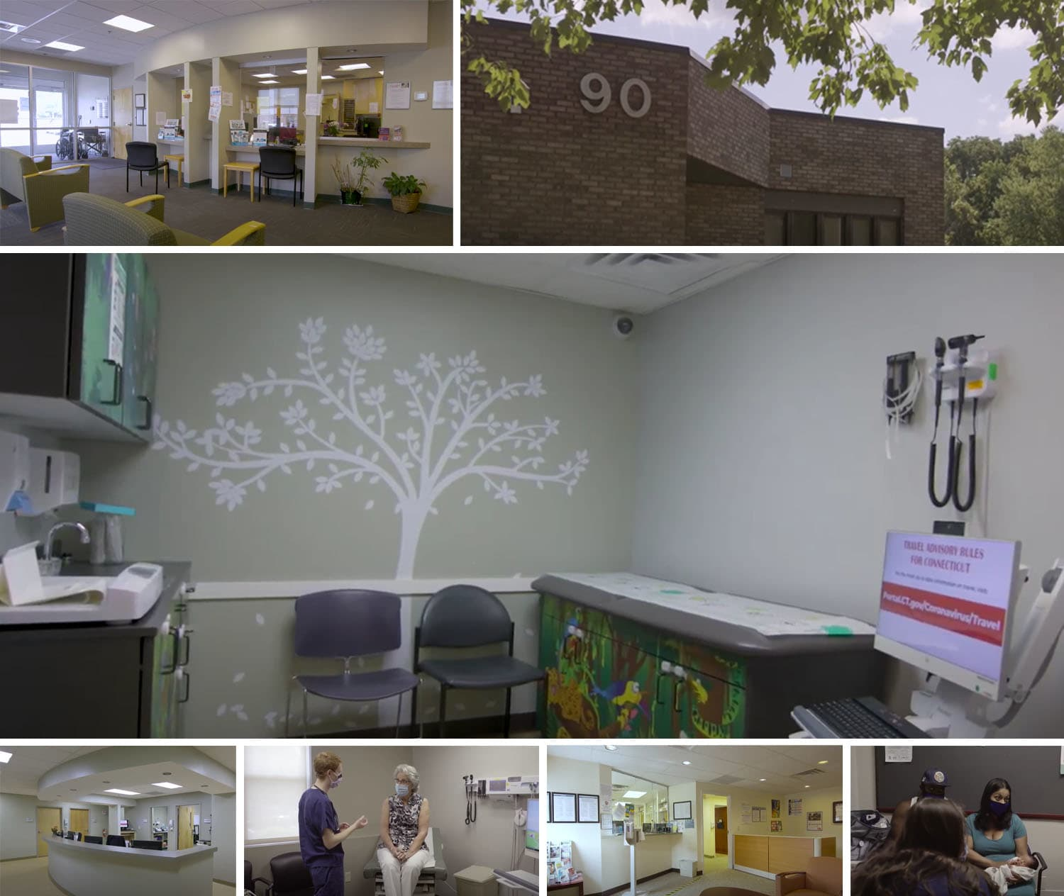 Images of Family Medicine offices.