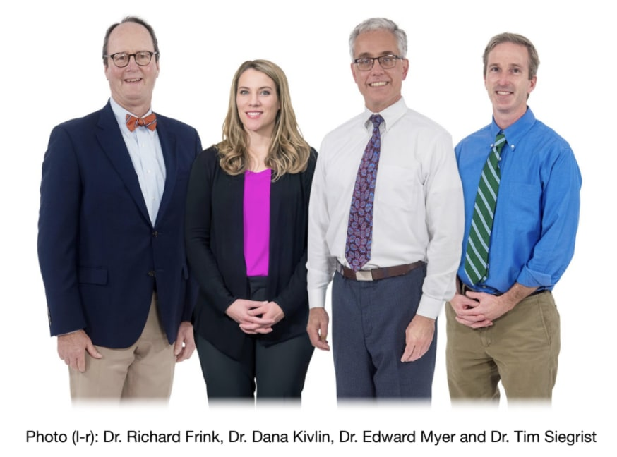 The physicians of Middlesex Health Urology.